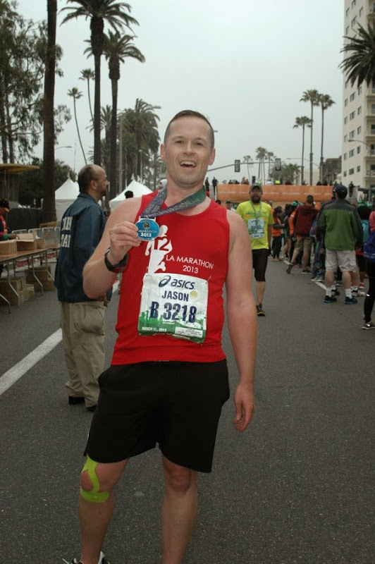 After running LA Marathon 2013
