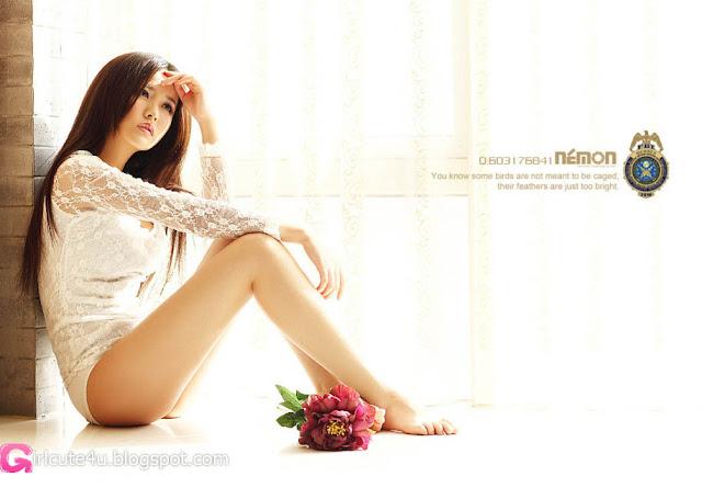 1 Qiu Xiao Chan - Morning ni Chaney-very cute asian girl-girlcute4u.blogspot.com