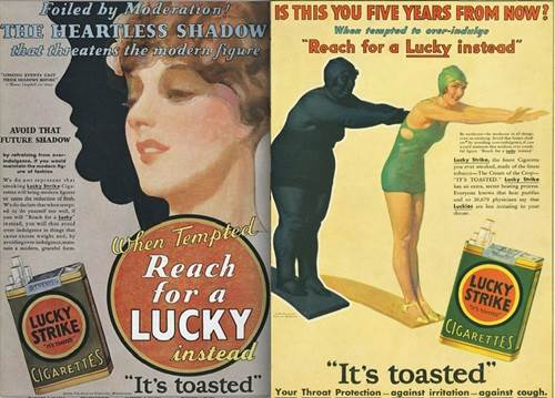classic lucky strikes ads