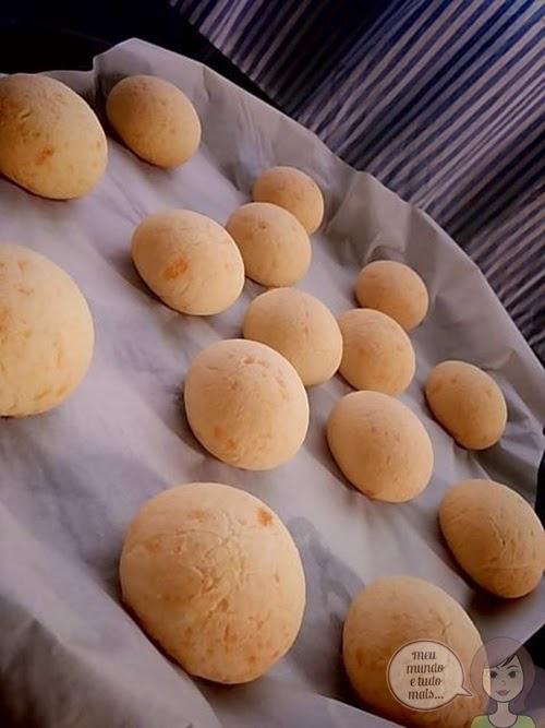 Pão de queijo vapt vupt