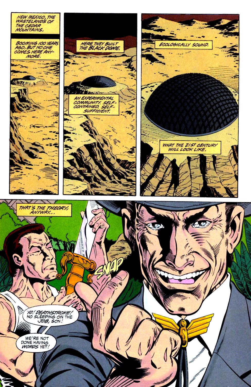 Deathstroke (1991) Issue #25 #30 - English 2