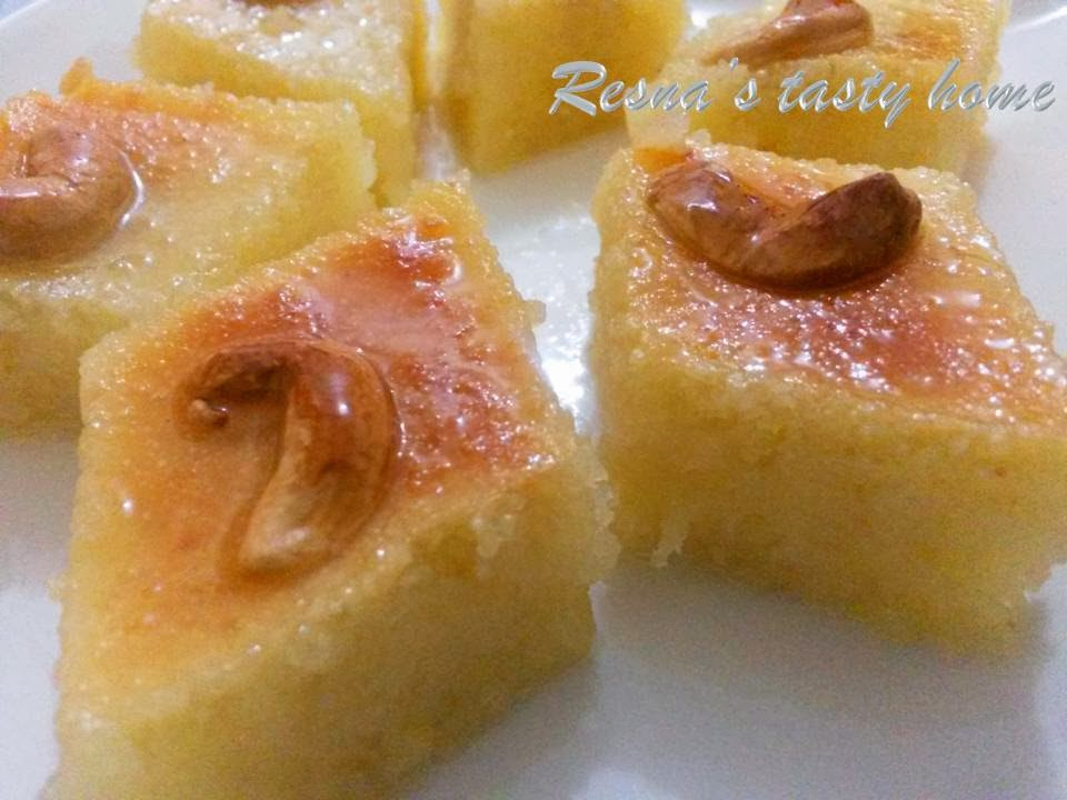 Resnas tasty home basbousa an arabic sweet today i am posting one of my favorite arabic sweet recipe basbousa after reaching here in qatar i tasted this too many times this is an important sweet forumfinder Gallery