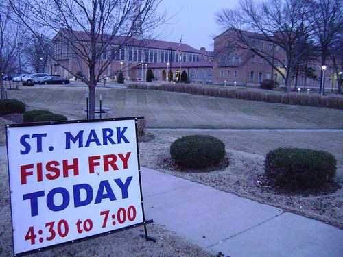 No meat for you a st louis fish fry blog st mark for Plenty of fish st louis