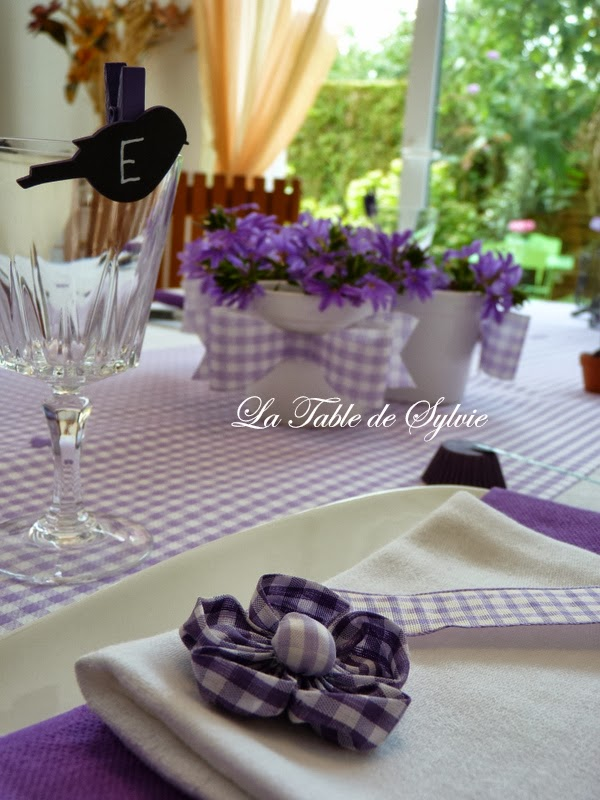 La table de sylvie au jardin mauve for Au jardin de sylvie