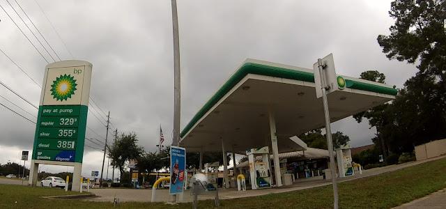 BP Tankstelle, Tallahassee Market Street, Florida USA