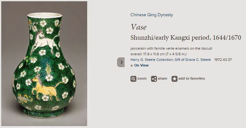 Pear Shaped Kangxi Famille Verte vase