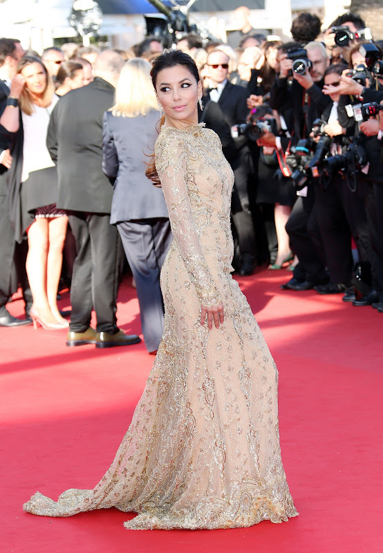 Eva Longoria  at 2013 Cannes Film Festival red carpet