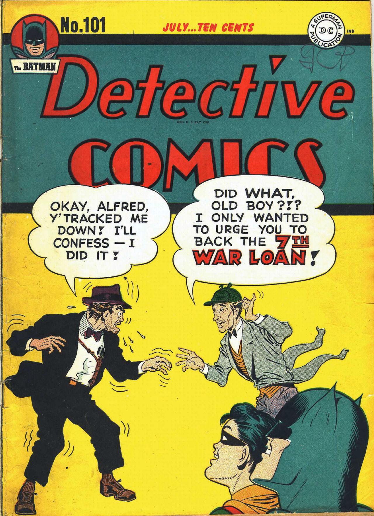 Detective Comics (1937) 101 Page 1