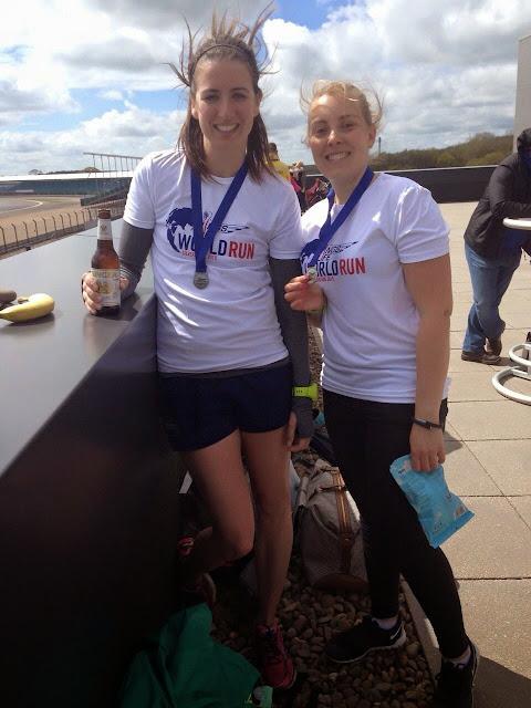 Wings for Life World Run - Silverstone UK race recap