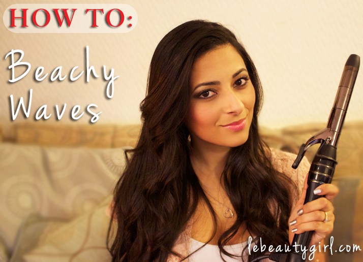 Victoria's Secret Beachy Waves Hair Tutorial | Le Beauty Girl