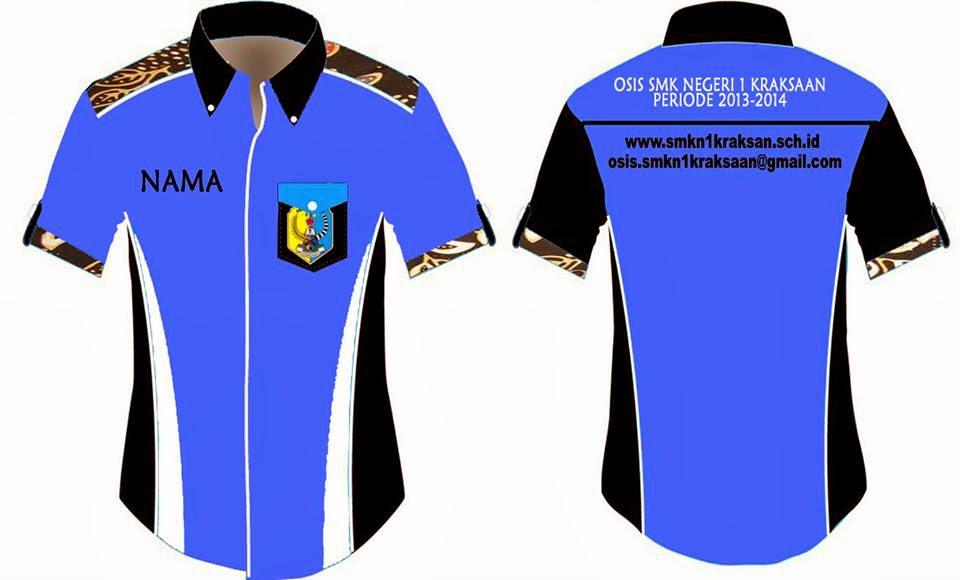 Desain Baju Osis Dan Celana Lapangan Osis Smk Negeri 1 Kraksaan