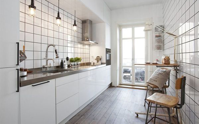 Interiores y 3d c mo distribuir una cocina - Como distribuir una cocina ...