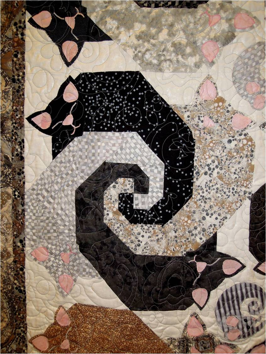 Quilt Inspiration Purrrrfectly Cute Cat Quilts