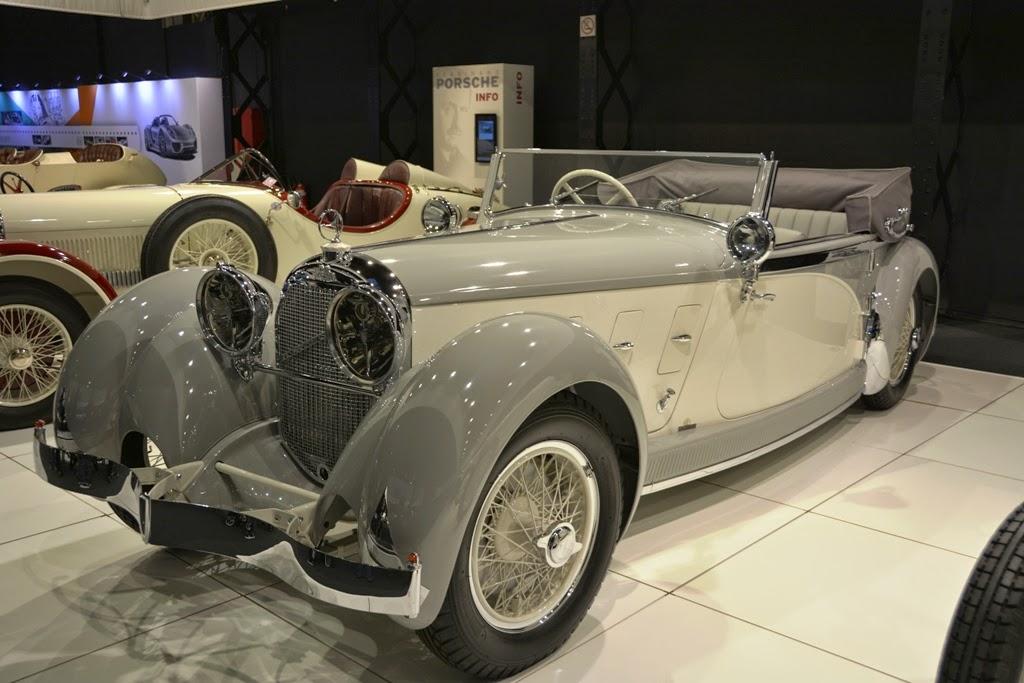 Autoworld Jubelpark Brussel Mercedes Cabrio