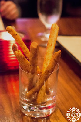 image of cheese sticks at Tom Colicchio Craftbar in NYC, New York
