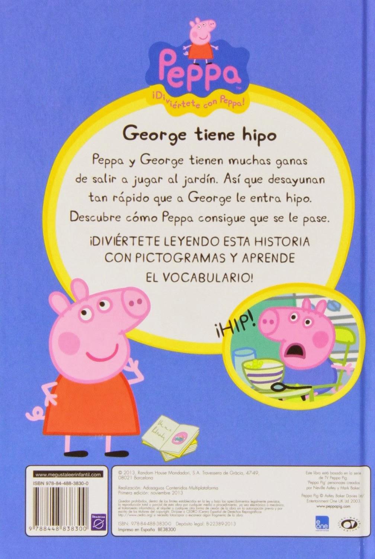 George tiene hipo (Peppa Pig. Pictogramas núm. 1)