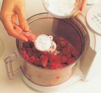 Raspberry Bavarois Mint