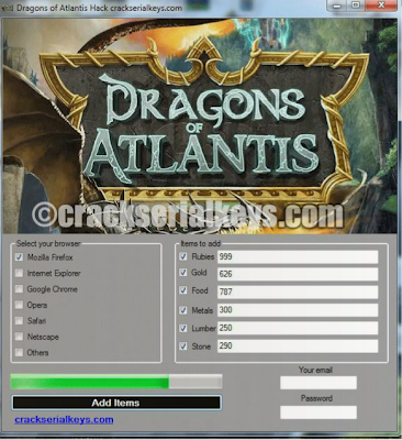Dragons Of Atlantis Hack