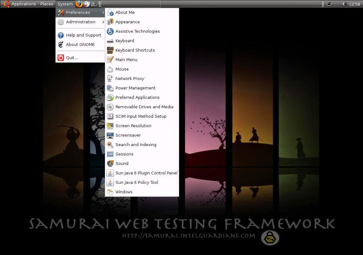 Samurai Web Testing Framework 3 0 Livecd Web Pen Testing