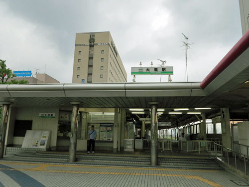 Ogaki Station, Gifu, Japan.