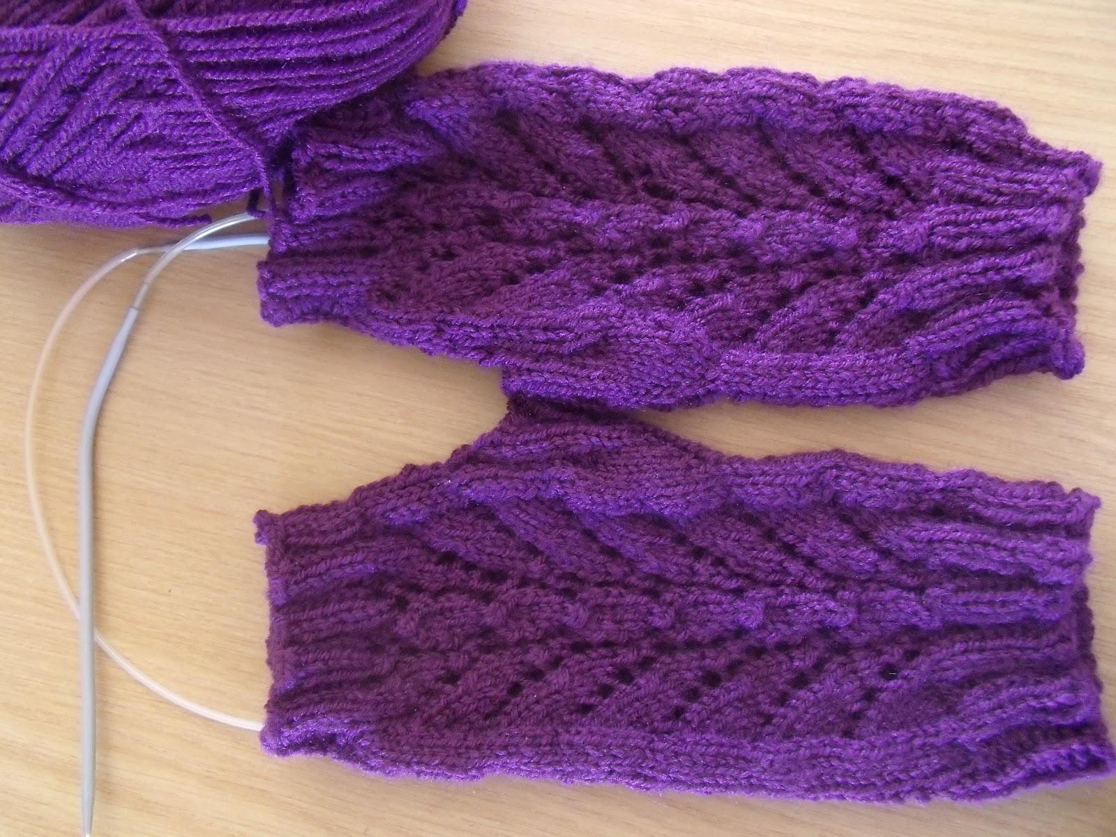 Magic Loop Knitting : Janemactats magic loop knitting part