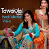 Fancy Designer Dresses 2015 - Tawakkal Pearl Collection Vol-2
