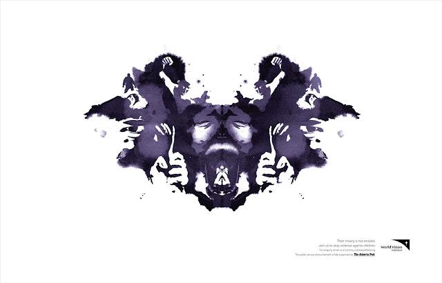 Anuncio gráfico del test de Rorschach
