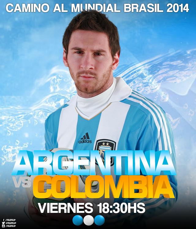 ... trasmitirá Argentina vs. Colombia, en vivo desde el estadio