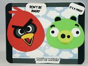 INVITACIONES DE ANGRY BIRDS.