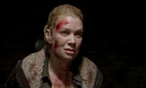 The Walking Dead S03E16. Welcome to the Tombs Andrea Muerta