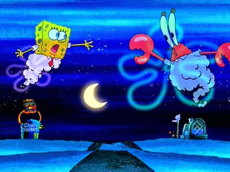 spongebob essay script