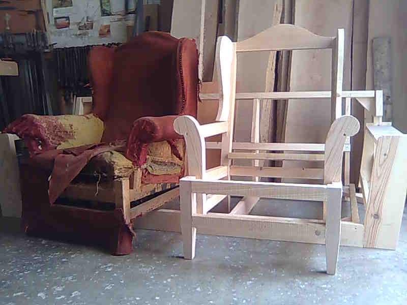 Como tapizar un sillon orejero latest elegant suenoszzz - Precios de tapizados de sillones ...