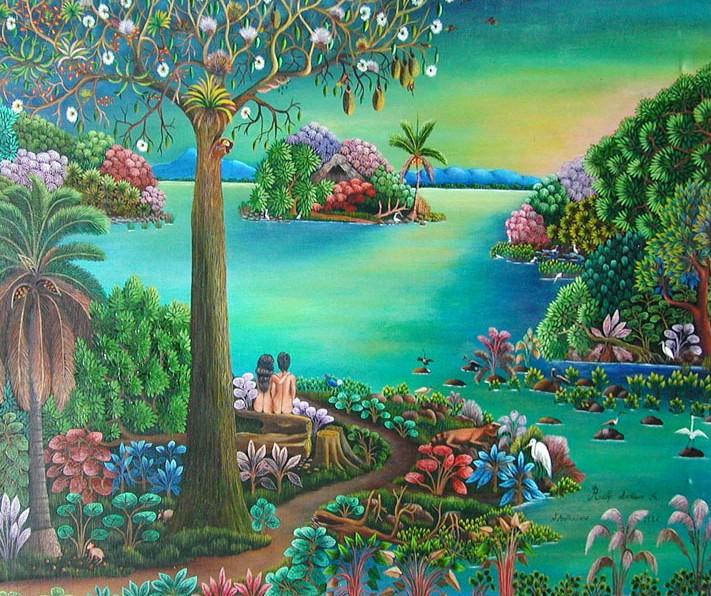 Im genes arte pinturas arte paisajes naif - Dibujos naif para pintar ...