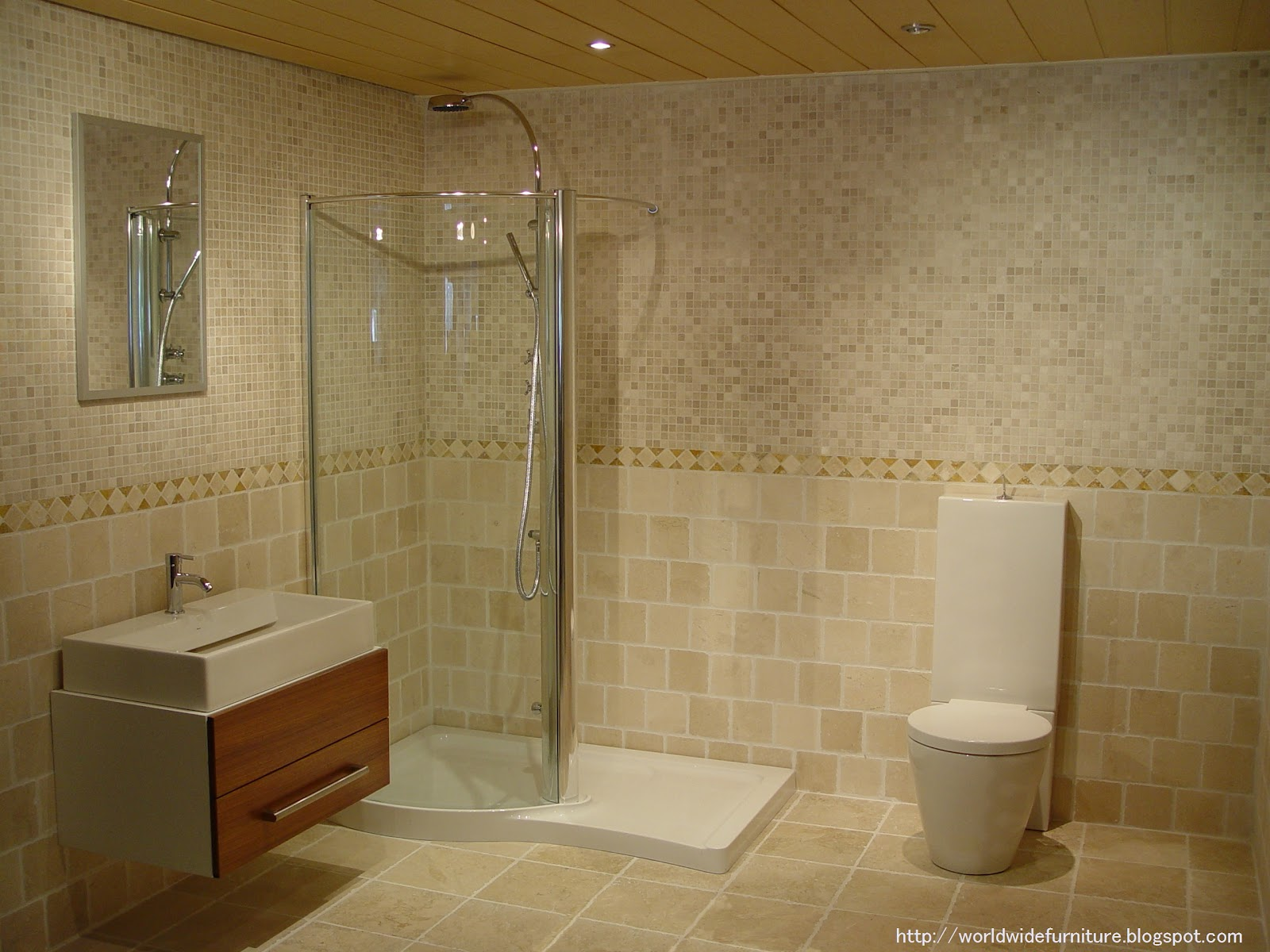 Choose Bathroom Paint Color And Bathroom Tile According To The Taste Of The  Individual, His Or Her Emotional State And The Feel You Would Like In Your  ...