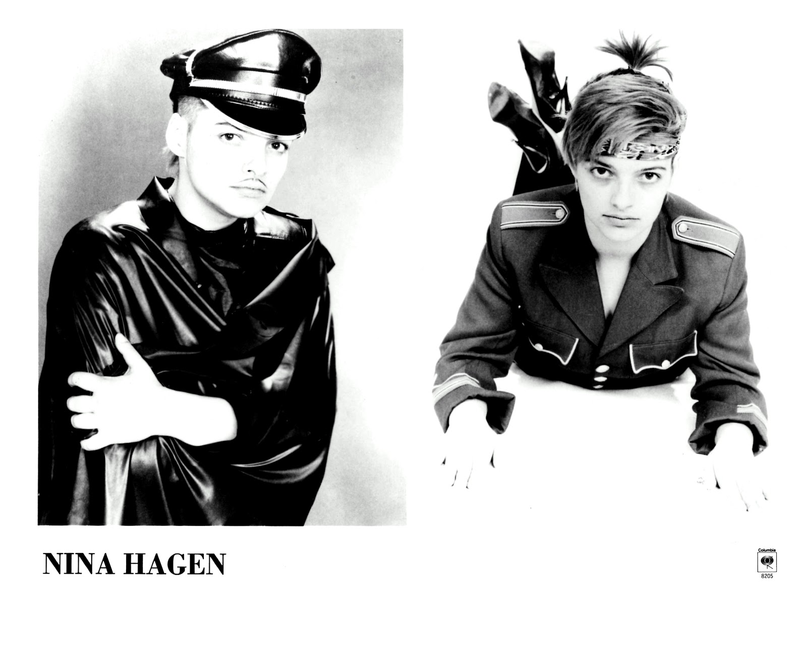 Lansure S Music Paraphernalia Nina Hagen Press Kits