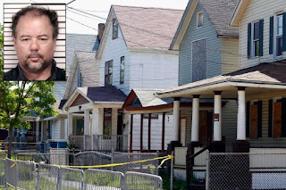 Ariel Castro (inset) guilty of kidnapping ans sexually abuse three women in Cleveland, OH