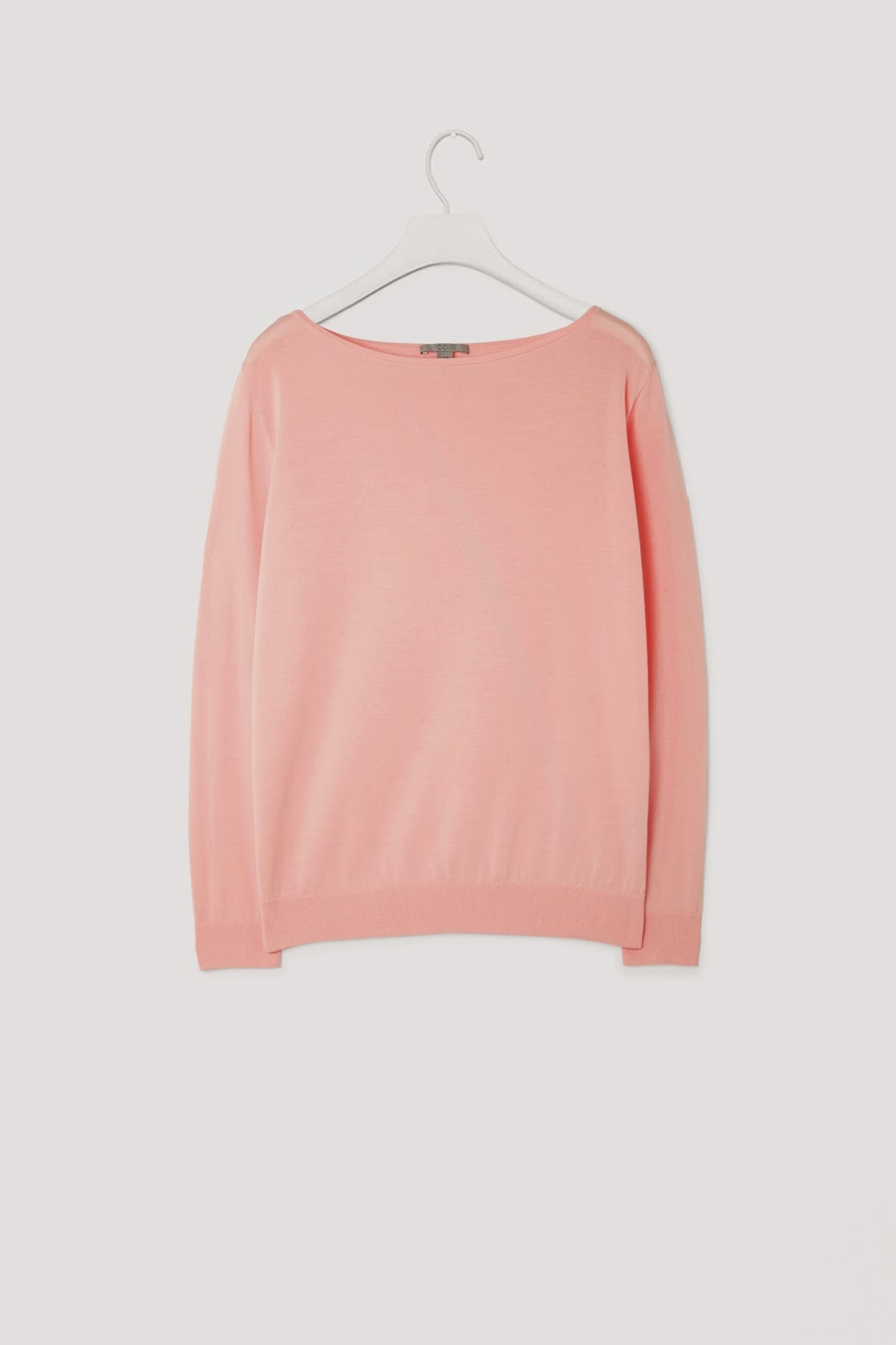 cos pink jumper, light pink jumper,