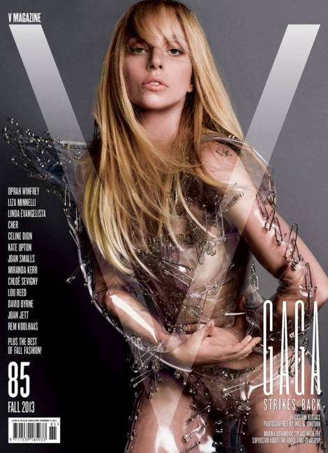 Lady Gaga covers V Magazine No.85