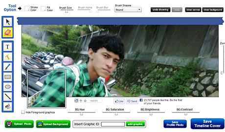 Cara Membuat Foto Sampul Cover Facebook Timeline Keren dan Menawan ...