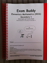 Exam Buddy (E Math Sec 1) 2nd Ed, 1st Print