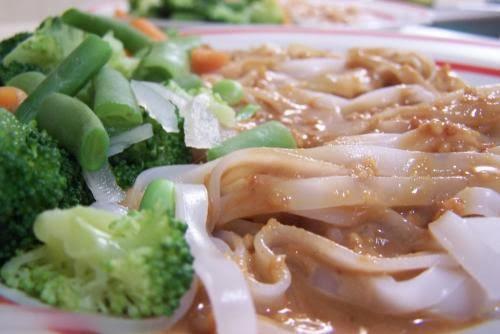 Peanut Noodles, Vegan, Vegetarian, Recipes