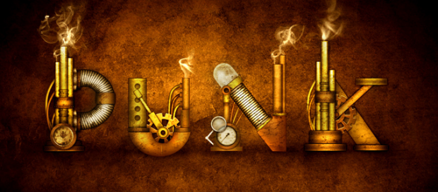 A Steampunk Type Treatment in Photoshop
