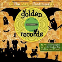golden records spooky halloween cd