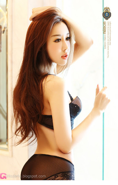 4 Xie Jia - Black-Very cute asian girl - girlcute4u.blogspot.com