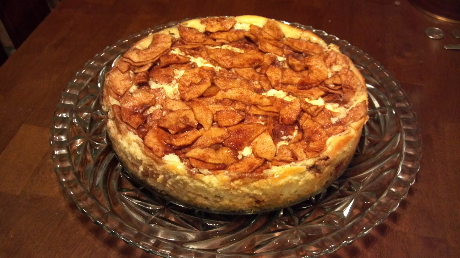 ... Memories & Merriment with Marna: Bob's Favorite Bavarian Apple Torte