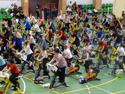 Maraton+Cicloindoor 1º Maratón Deportivo en Febrero 2012 en Calpe