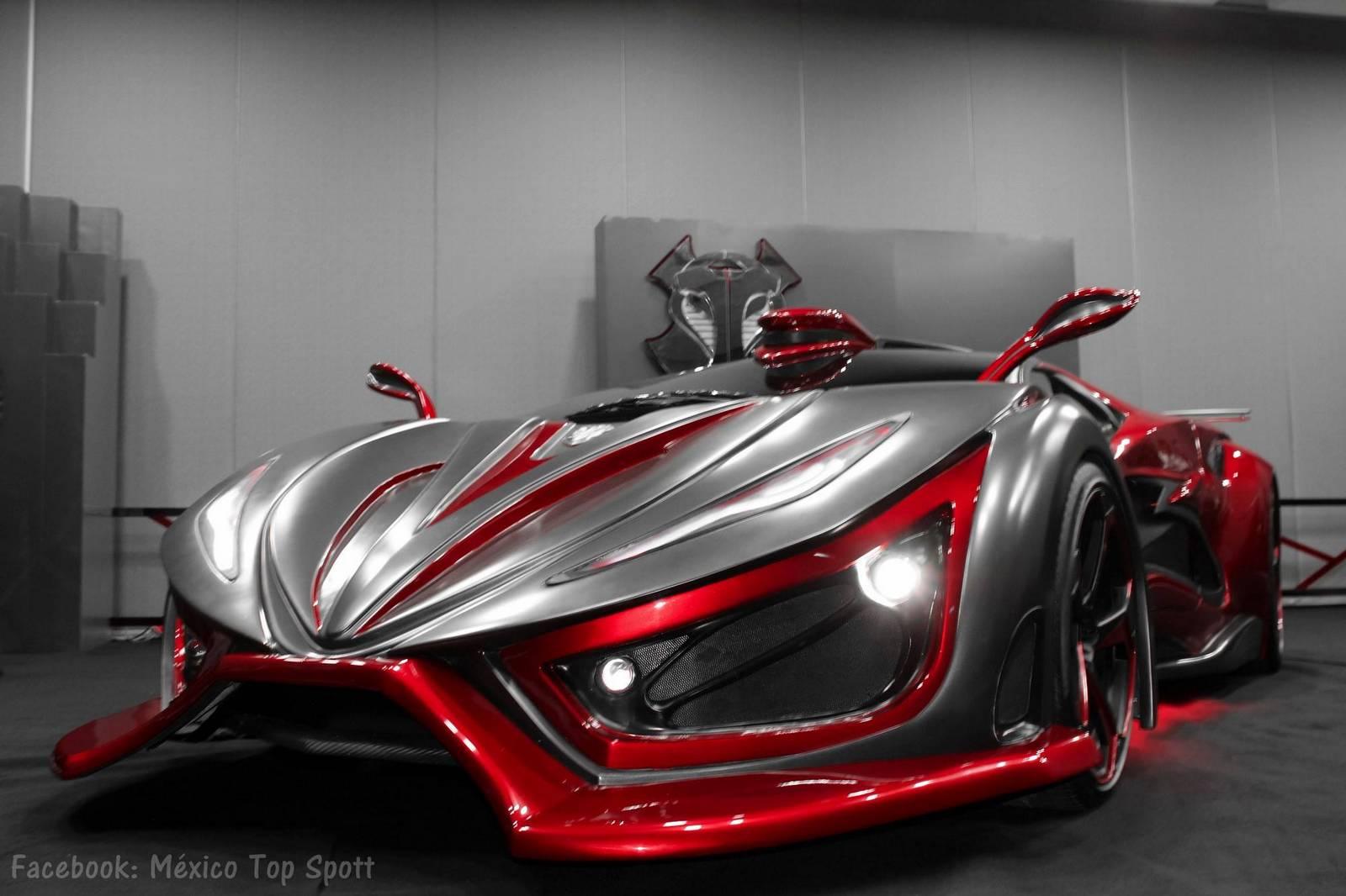 autos von morgen mexikanischer supersportwagen mit. Black Bedroom Furniture Sets. Home Design Ideas