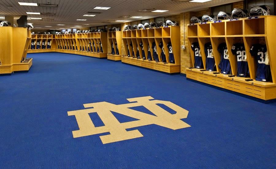 Notre Dame Stadium Locker Room Part 66