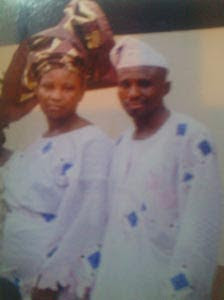 Husband and wife killed by policeman Musiliu Aremu in Lagos.