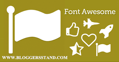 How To Add Font Awesome Icons In Blogger